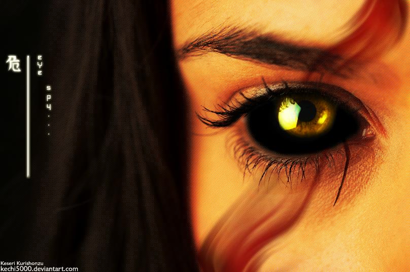 Eye Spy... by LiMT-Art