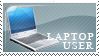 Laptop User Stamp by LiMT-Art