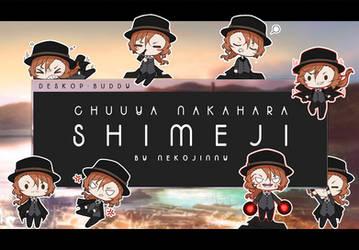 SHIMEJI - Chuuya Nakahara +DOWNLOAD / STICKER