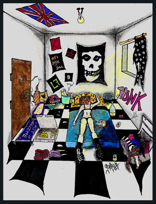 Punk Room By Guaya On DeviantArt