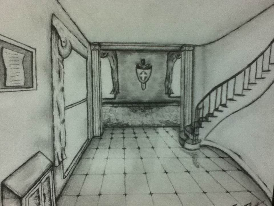 Perspective Interior Drawing By Ben3418 ...