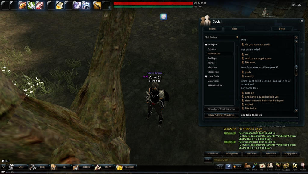 pic for warning players of scammers by Ben3418