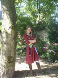 Skyward sword Zelda cosplay by Fidessa-chan