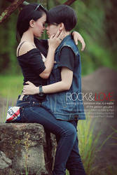 Rock and Love by DinalKelian