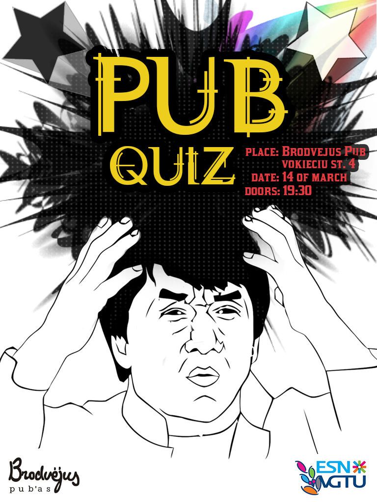Pub Quiz poster by onlykamei     onlykamei   DeviantArt