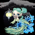 OC Eerie Sealight by AriaThordia