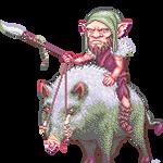 Goblin - Boar Rider by AriaThordia
