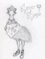 Emo Emu by ZwitterSaft