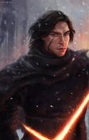 Kylo Ren Star Wars by EvaKosmos