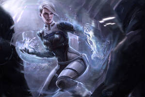 Cora Harper Mass Effect Andromeda Initiation by EvaKosmos
