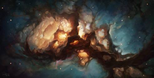 The Dead Stars Nebula by EvaKosmos