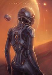 Space Explorers by EvaKosmos