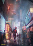 Cyberpunk 2077 (fan art)