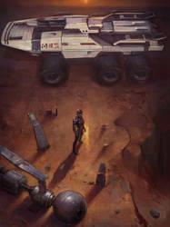 Mass Effect fanart by EvaKosmos