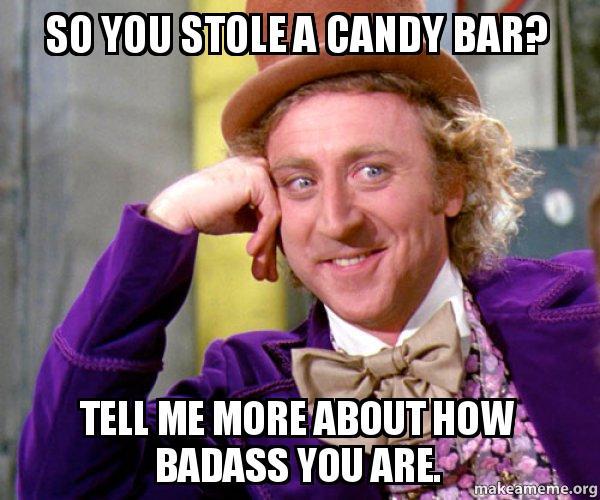 So-you-stole-a-candy-bar by NurseBlissey on DeviantArt