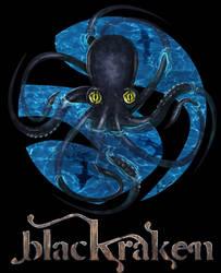 BlackKraken Logo by luisservin89