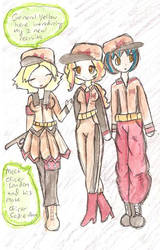 redribbon armys new recruits by Tainted-Scribbles