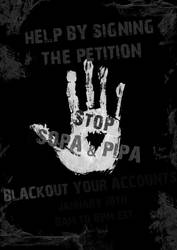 STOP SOPA by Ghastly-Death