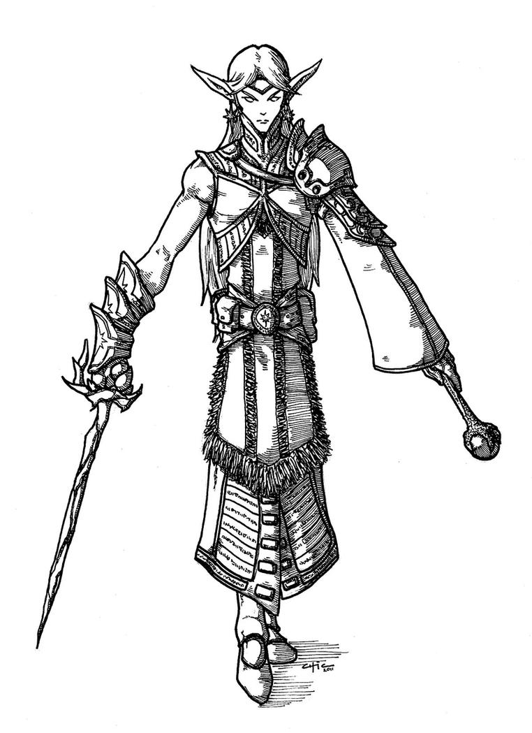 female dragonborn coloring pages - photo#24
