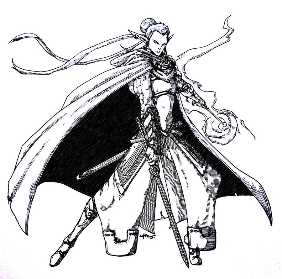 Eladrin Ranger Eladrin bladesinger byEladrin Female Swordmage