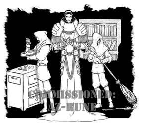 COM - Marcos Salazar, Techno-Wizard by peachyco