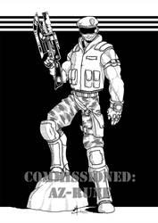 COM - Hunter Wade by peachyco