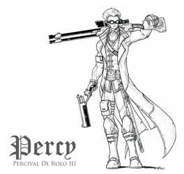 Percy De Rolo III, Gunslinger by peachyco