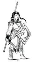 Talyn Wyvernmark, Female Dwarf Druid