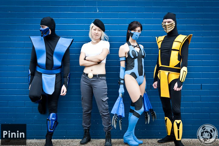Mortal kombat mk9 scorpionsubzeronoob and smoke masks updated 925 sub zero armor was a commision kitanas fans were free thats my cosplay team partner and very pretty girlfriend solutioingenieria Image collections
