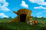 The Legend of Zelda Level 1