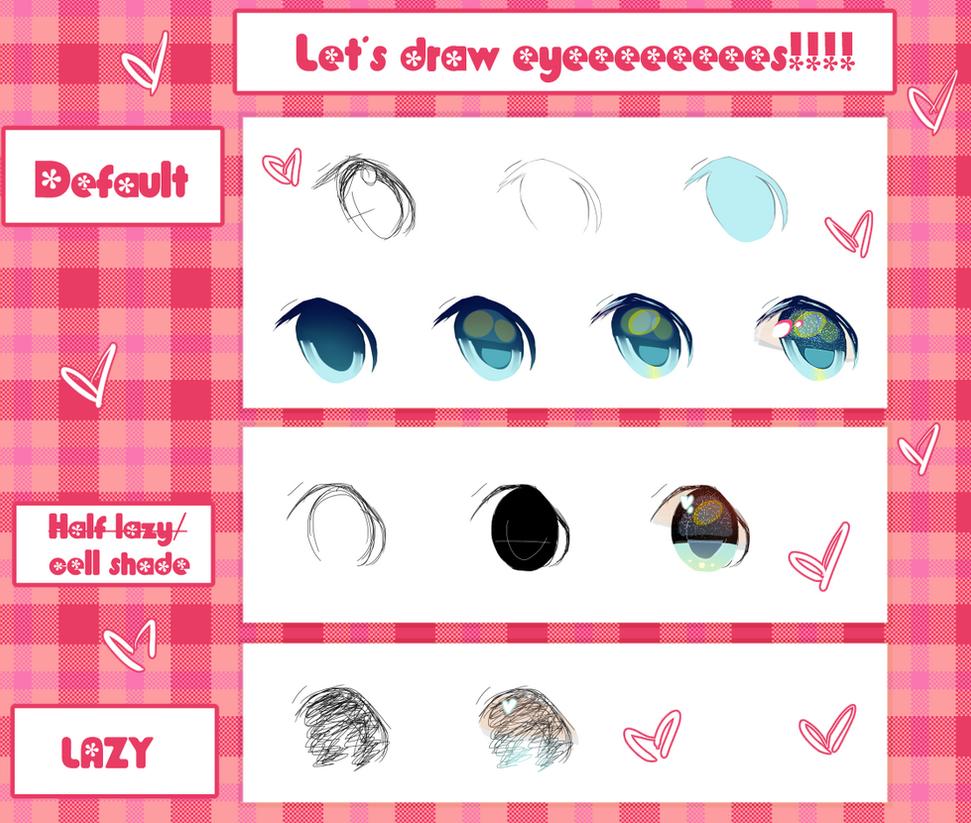 Eye process:3 different ways by Kiekyun