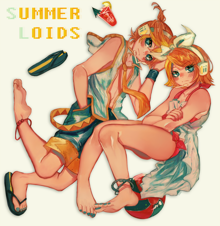 Summerloids by Kiekyun