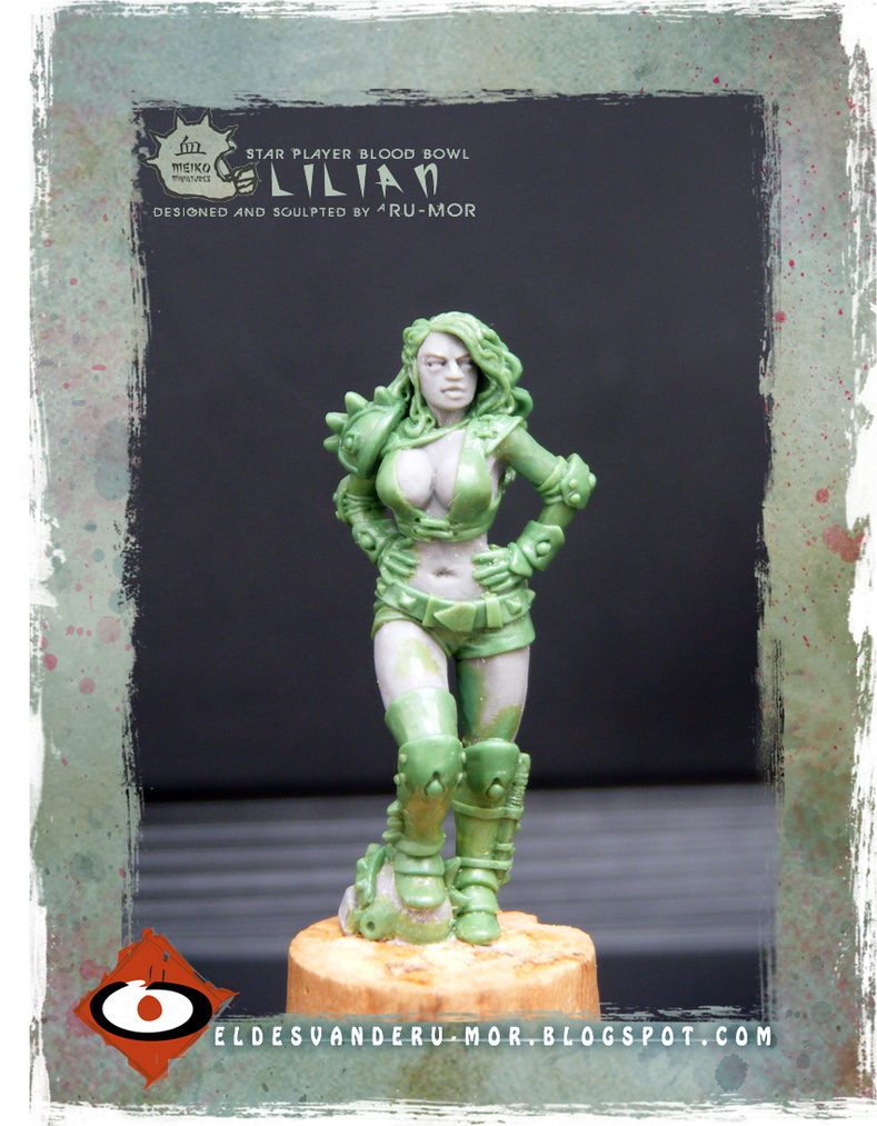 Miniature - Starplayer Blood Bowl - Lilian by RU-MOR
