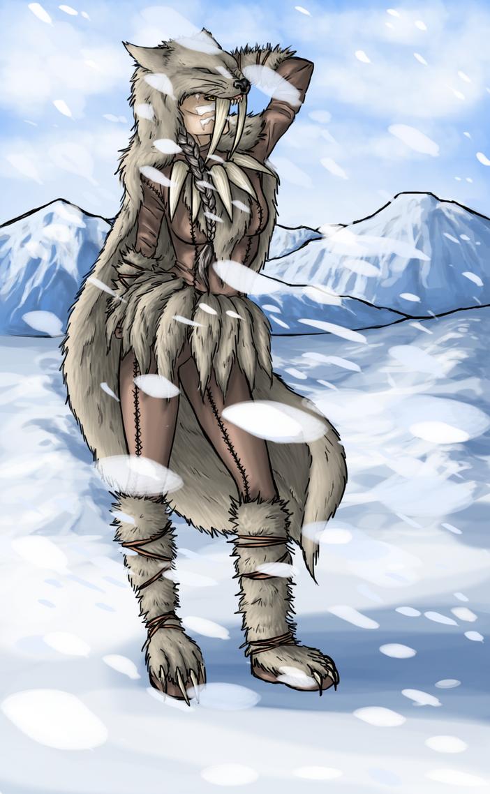 Wolf Girl by Rachninja95