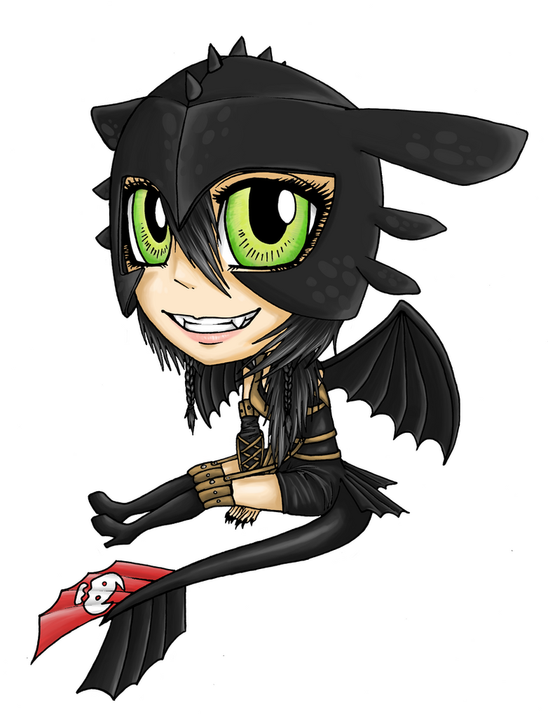 Byndo Toothless Chibi by Rachninja95