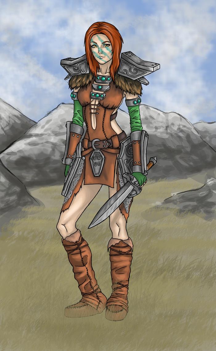Aela the Huntress by Rachninja95