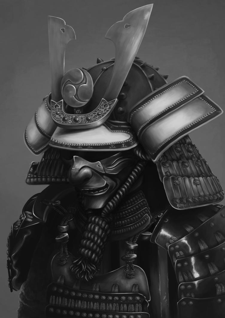 Samurai portrait by Rachninja95
