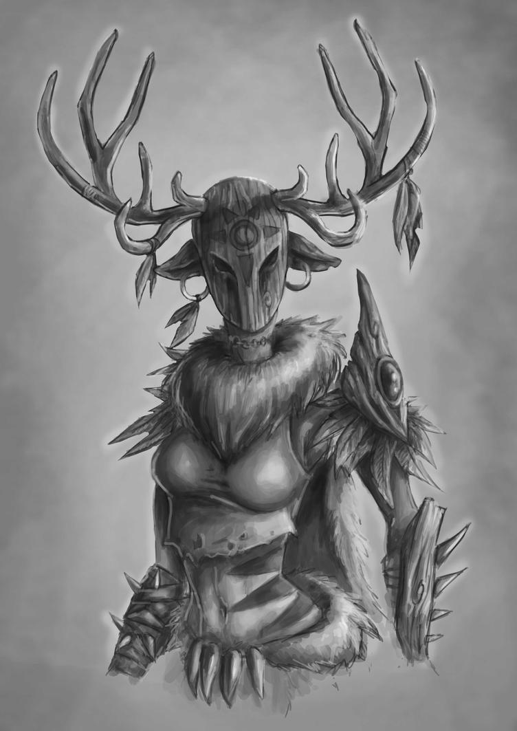 Deer Sharman by Rachninja95