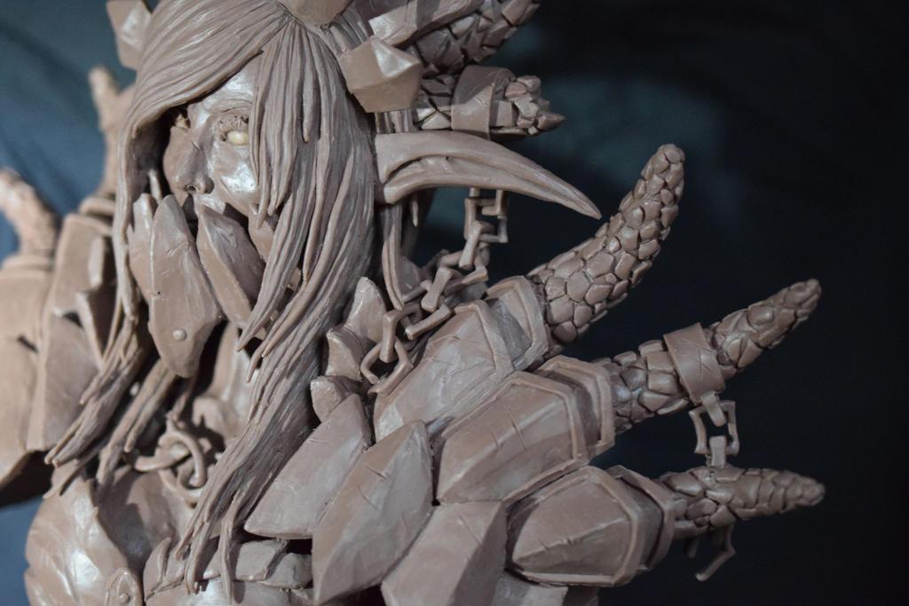 Lady Deathwing close up by Rachninja95