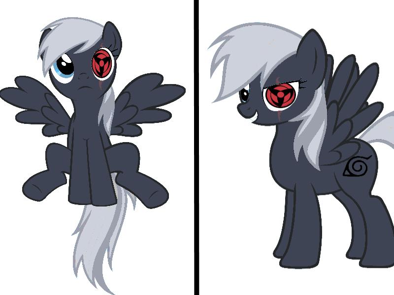 Kakashi Pony by The2ndD