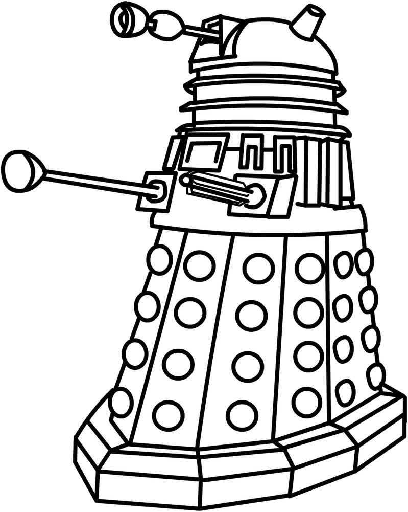 Dalek by The2ndD on DeviantArt