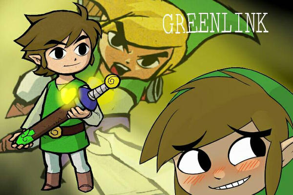 Youtuber's United Title Card: Greenlink by Lavawolf7171