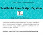 TaskRabbit Clone From Prystino