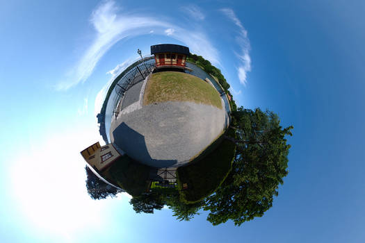 Planet red house ::360 Pano::