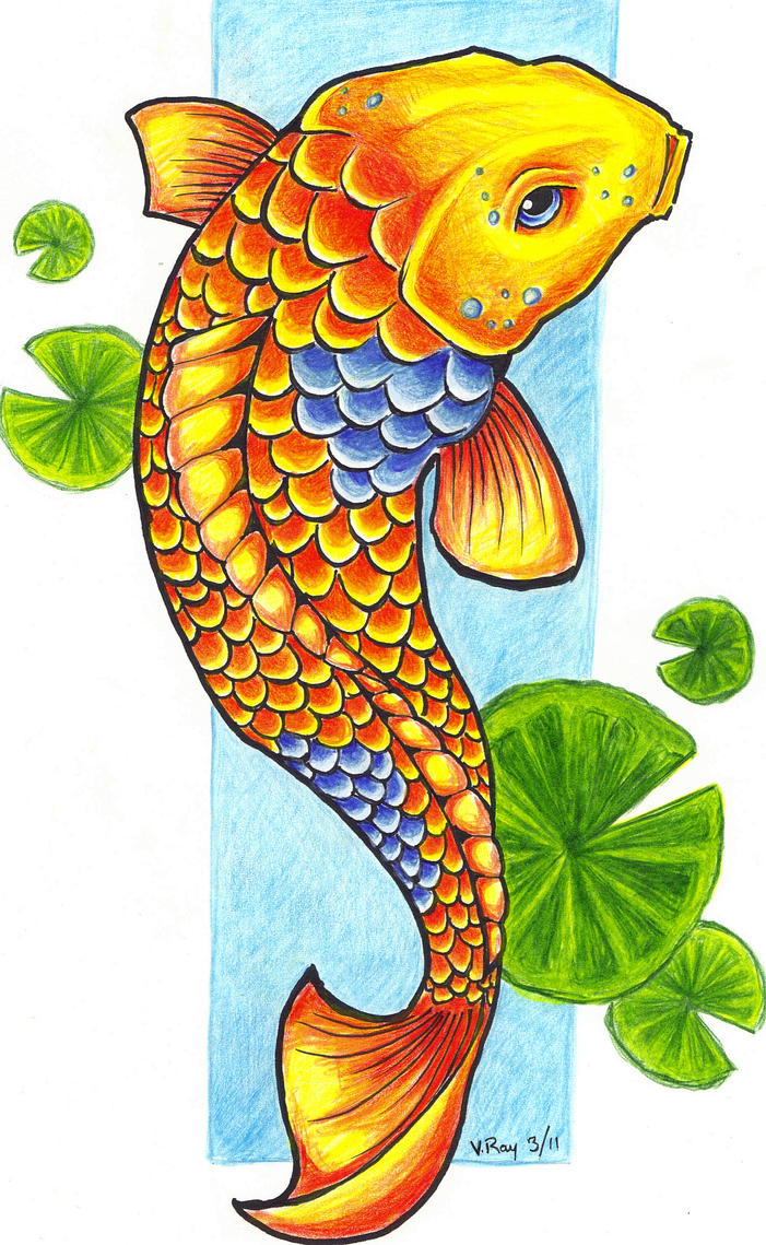 Koi fish by flickter88 on DeviantArt