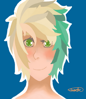 re-draw of myself