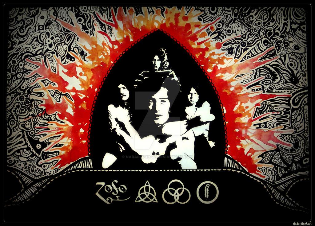 U Uuu 2017 >> Led Zeppelin by NadaElgohari on DeviantArt