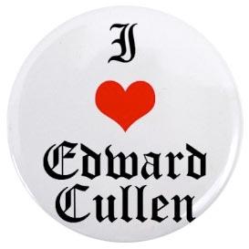 I love Edward Cullen Button by New-Moon-Club