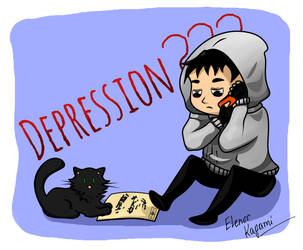 Depression??? (Cry of Rear) by ElenorKagami