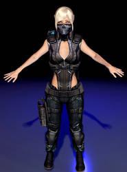 Generic Female Future Soldier